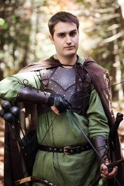 A promotional pic of Scott as Will in the webseries LARPs: The Series.